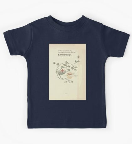The Old Garden and Other Verses by Margaret Deland and Wade Campbell, Illustrated by Walter Crane 1894 229 - Look Straight Up Into the Sky Kids Tee