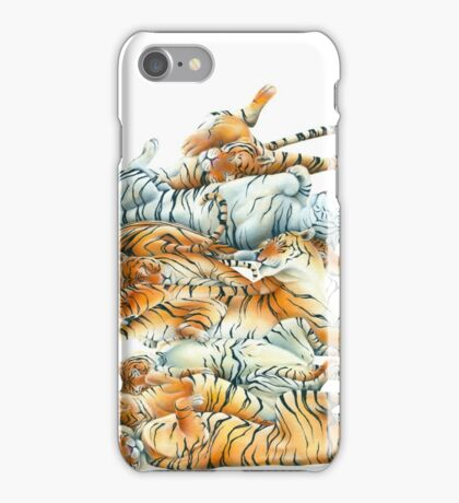 Tiger Sprawl iPhone Case/Skin