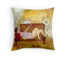 in the attic Throw Pillow