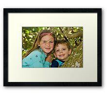 Tree Fun Framed Print