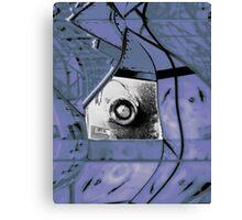 Mirror Blue Canvas Print