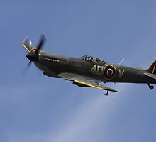 Spitfire. Coningsby, Lincolnshire by Merlin72