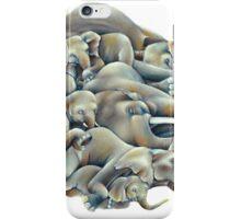 Elephant Ivory Slumber  iPhone Case/Skin