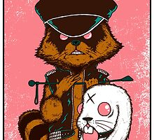 queens of the stone age_racoon by peakock
