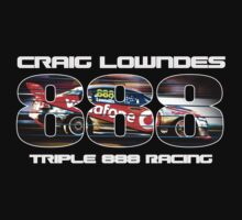 Craig Lowndes - Triple 888 Racing by Adrian Jeffs