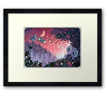 A Fleeting Respite Framed Print