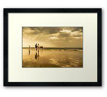 Reflections at Sorrento Framed Print