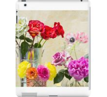 Symphony Of Rainbow Flowers iPad Case/Skin