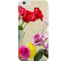 Symphony Of Rainbow Flowers iPhone Case/Skin