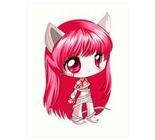 Elfen Lied -Lucy (chibi) Art Print