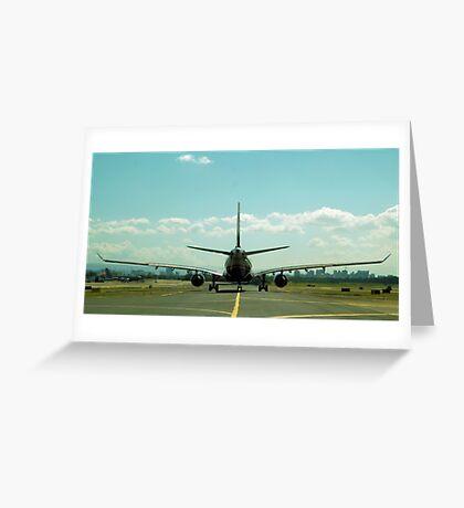 Bigger Plane Greeting Card
