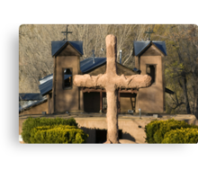 Santuario de Chimayo, Good Friday 2009 Canvas Print
