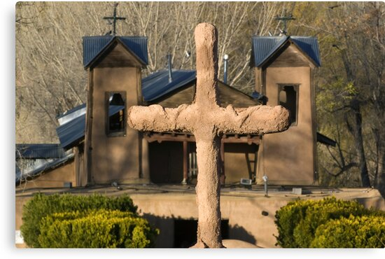 Santuario de Chimayo, Good Friday 2009 by Mitchell Tillison