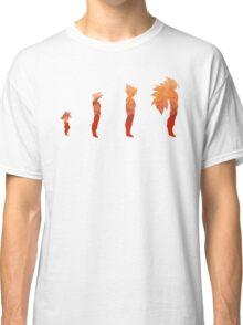 The Evolution of a Saiyan Classic T-Shirt