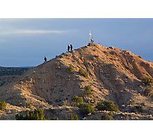 Good Friday Pilgrimage to the Santuario de Chimayo Photographic Print