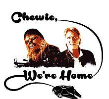 Chewie, We're Home by kramprusz