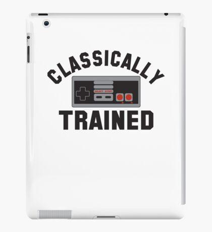 Classically Trained Nintendo T-Shirt iPad Case/Skin