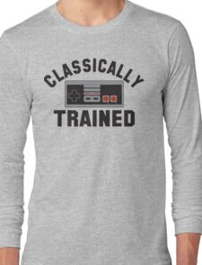 Classically Trained Nintendo T-Shirt Long Sleeve T-Shirt