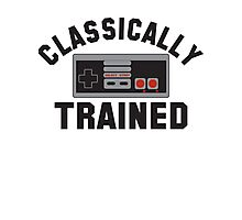 Classically Trained Nintendo T-Shirt Photographic Print