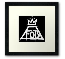 Fall out boy Framed Print