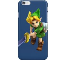 Young Link Hyrule Warriors iPhone Case/Skin