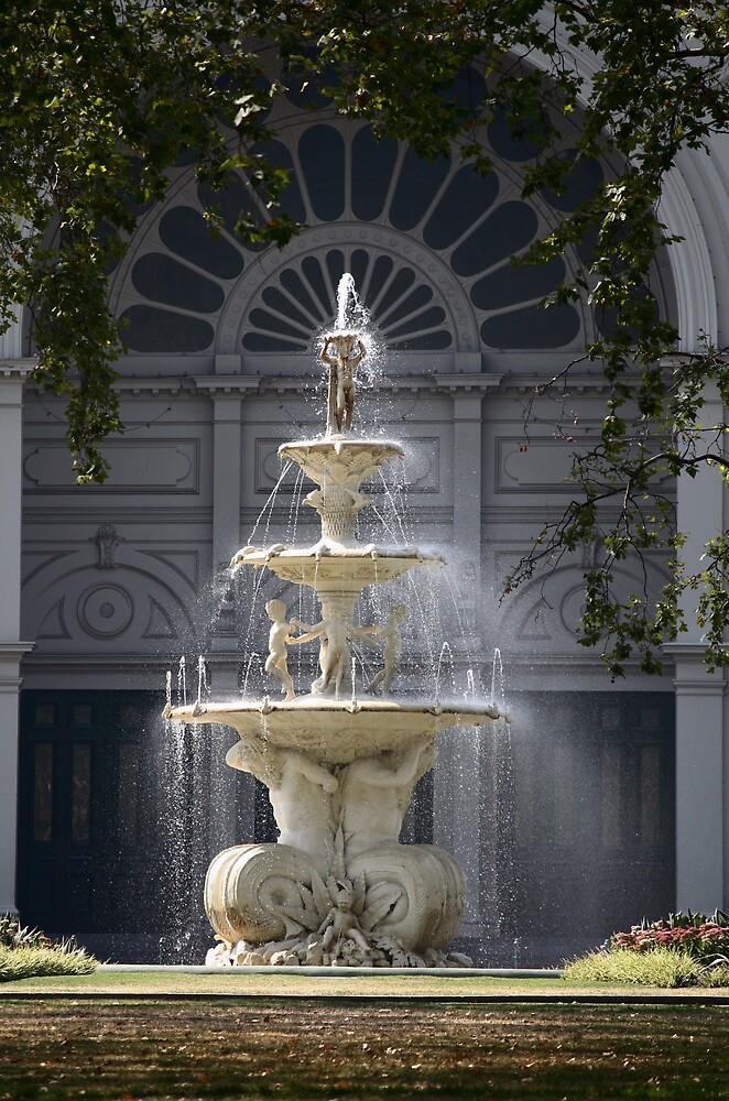 Hochgurtel Exhibition Fountain,1880, Melbourne by Christopher Biggs
