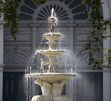 Hochgurtel Exhibition Fountain,1880, Melbourne by Christopher Biggs