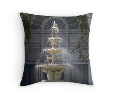 Hochgurtel Exhibition Fountain,1880, Melbourne Throw Pillow