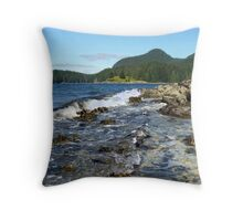 a westerly gale! Throw Pillow