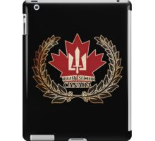 CANADA Right Sector iPad Case/Skin