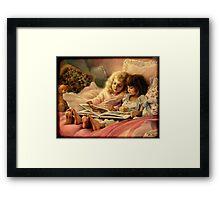 Storybook Children Framed Print