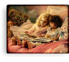 Storybook Children Canvas Print