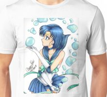 Sailor Mercury Fanart Unisex T-Shirt