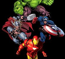 The Avengers by AvatarSkyBison