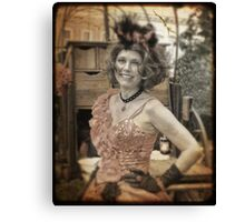 Miss Natalee Canvas Print