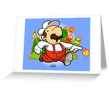 Fire plumber! Greeting Card