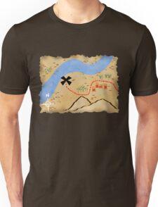Treasure Map Unisex T-Shirt