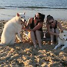 12. Stevie & Vivian & their Malamutes by Cathie Brooker
