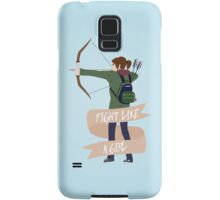 Fight Like a Girl: Ellie Samsung Galaxy Case/Skin