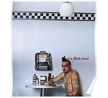 Punk in Diner Poster
