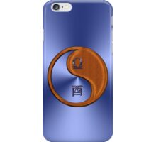 Libra & Rooster Yin Wood iPhone Case/Skin