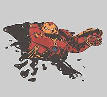 Hulkbuster [Marker, splatter] by Tift23