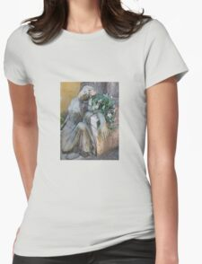 OUR LADY OF THE FLOWERS Womens Fitted T-Shirt