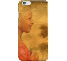 The Danish Song Is A Young Blond Girl iPhone Case/Skin