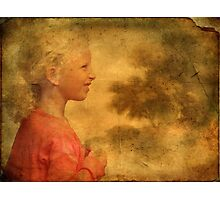 The Danish Song Is A Young Blond Girl Photographic Print