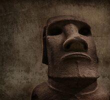 Moai Man by SarahSchloo
