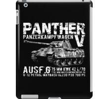 Panther Tank iPad Case/Skin