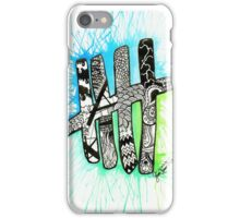 5SOS Tally Watercolor iPhone Case/Skin