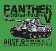 Panther Tank Baby Tee