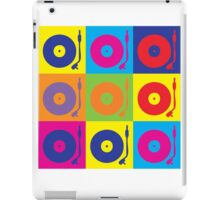 Vinyl Record Player Turntable Pop Art iPad Case/Skin